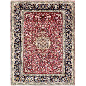9' 6 x 12' 6 Isfahan Persian Rug