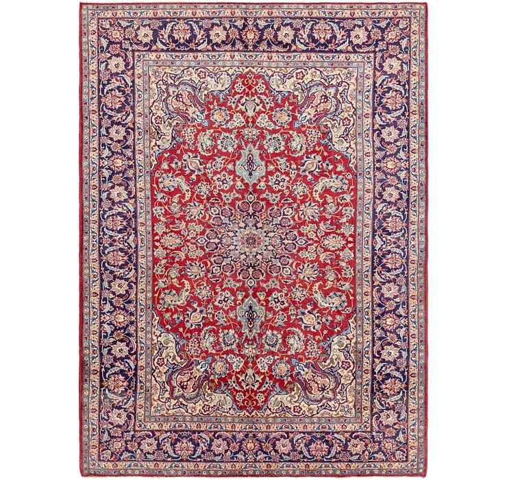 9' 7 x 13' Isfahan Persian Rug