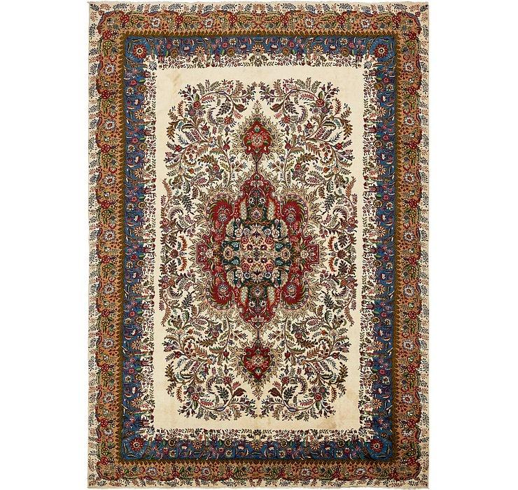 348cm x 495cm Tabriz Persian Rug