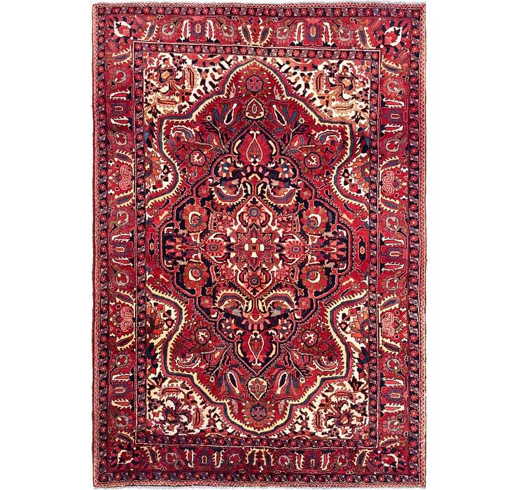 7' 2 x 10' 2 Bakhtiari Persian Rug