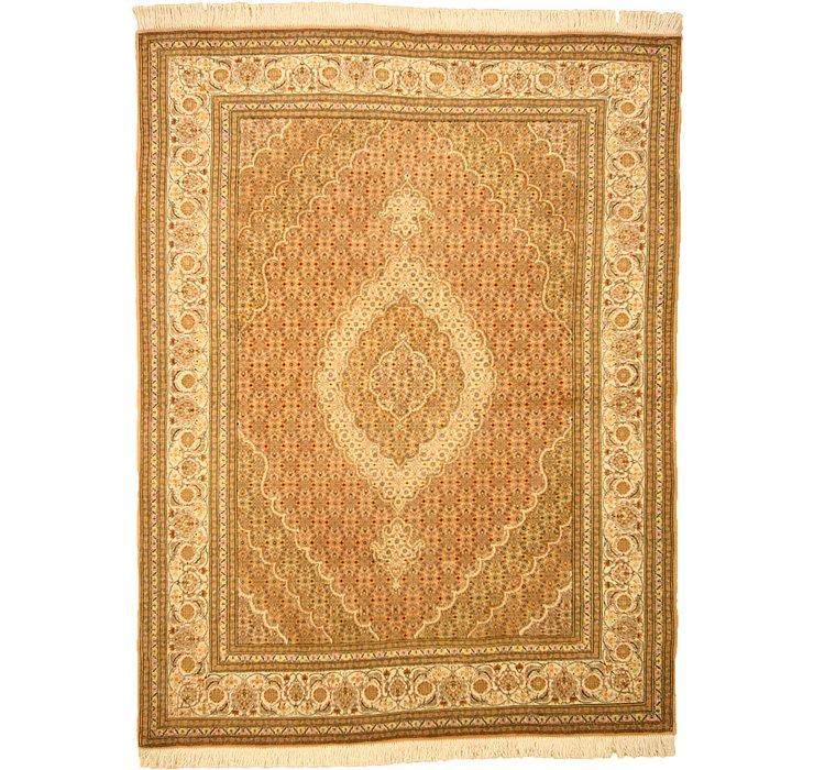 4' 9 x 6' 4 Tabriz Persian Rug