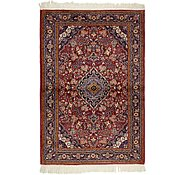 Link to 3' 4 x 4' 10 Qom Persian Rug