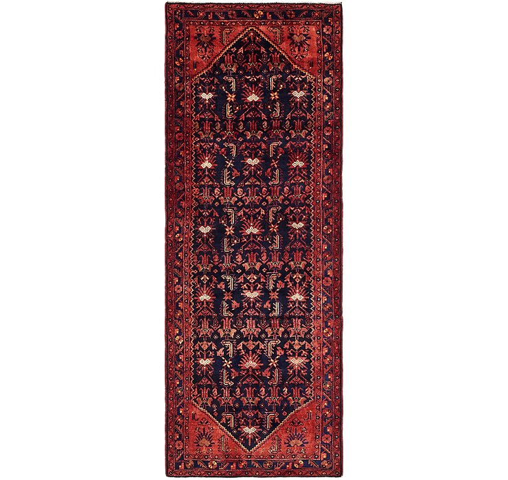 3' 9 x 10' Khamseh Persian Runner ...