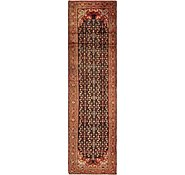 Link to 3' 10 x 15' Hossainabad Persian Runner Rug