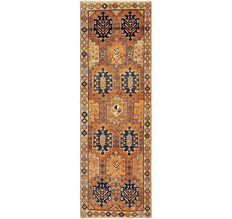 3' 8 x 12' 7 Shiraz Persian Runner Rug