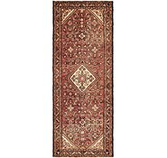 Link to 110cm x 297cm Hossainabad Persian Runner Rug