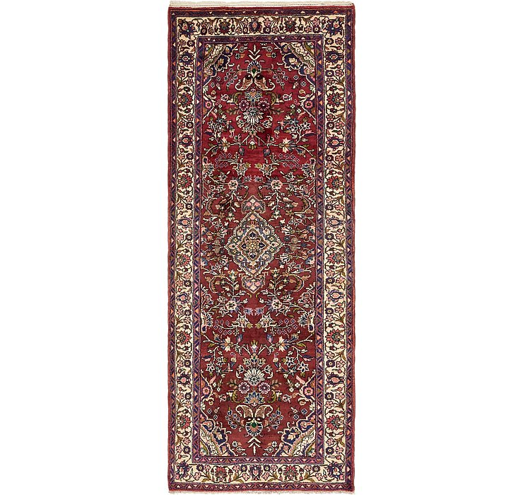 3' 7 x 9' 9 Borchelu Persian Runner...