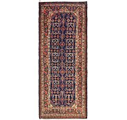 Link to 115cm x 300cm Hossainabad Persian Runner Rug