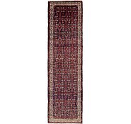 Link to 115cm x 417cm Hossainabad Persian Runner Rug