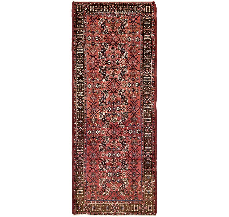 3' 8 x 9' 3 Gholtogh Persian Runner...