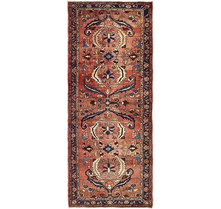 4' x 9' 10 Zanjan Persian Runner Rug