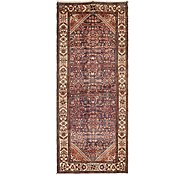 Link to 4' 2 x 10' Hossainabad Persian Runner Rug