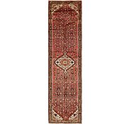 Link to 105cm x 420cm Hossainabad Persian Runner Rug