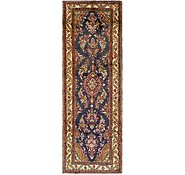 Link to 4' x 10' 10 Khamseh Persian Runner Rug