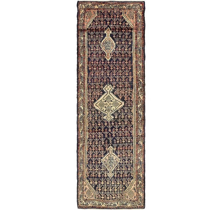 3' 3 x 11' 4 Darjazin Persian Runner...