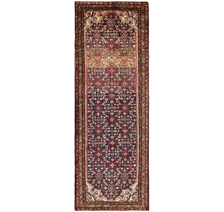 117cm x 340cm Hossainabad Persian Run...