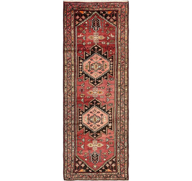 3' 6 x 10' Khamseh Persian Runner ...
