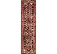 Link to 3' 6 x 13' Hossainabad Persian Runner Rug