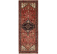 Link to 3' 6 x 9' 10 Hossainabad Persian Runner Rug