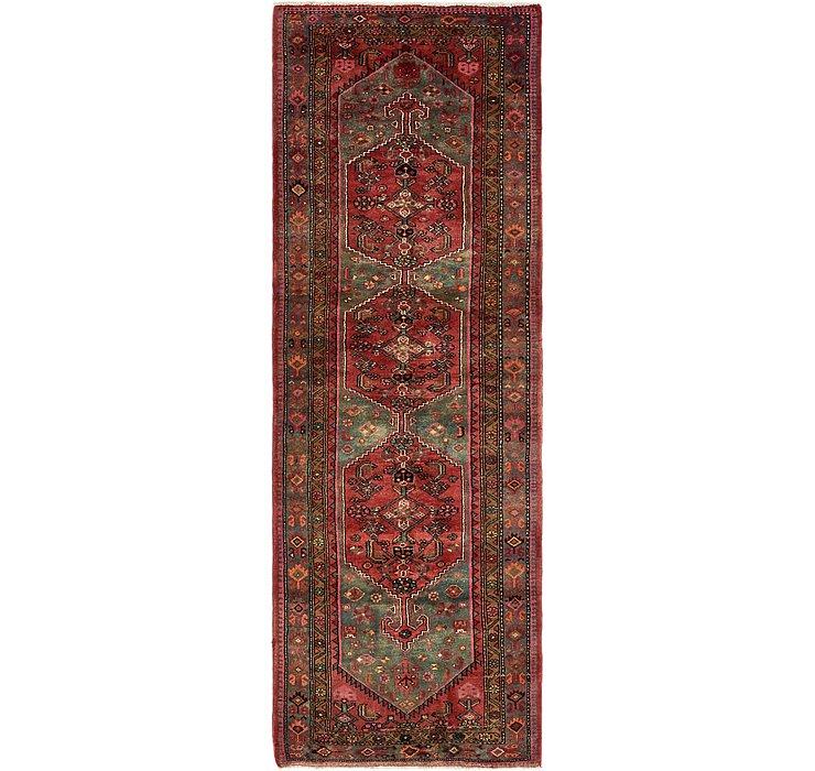 3' 7 x 10' 4 Zanjan Persian Runner Rug