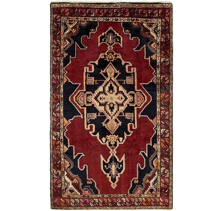 HandKnotted 5' 2 x 9' Koliaei Persian Rug