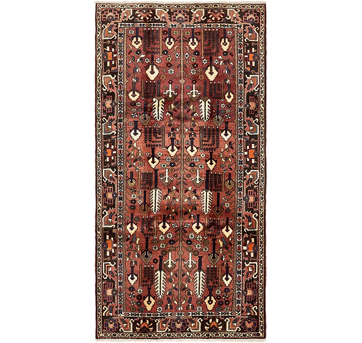 5' x 10' 2 Bakhtiar Persian Runner...