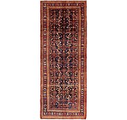 Link to 4' 10 x 13' Hossainabad Persian Runner Rug