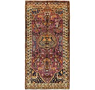 Link to 4' 10 x 10' Bakhtiar Persian Runner Rug