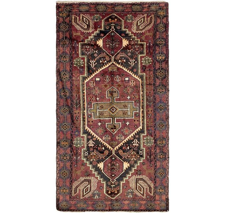 5' 2 x 9' 9 Zanjan Persian Rug