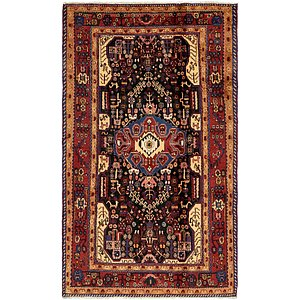6x9 Black Persian & Oriental  Rugs