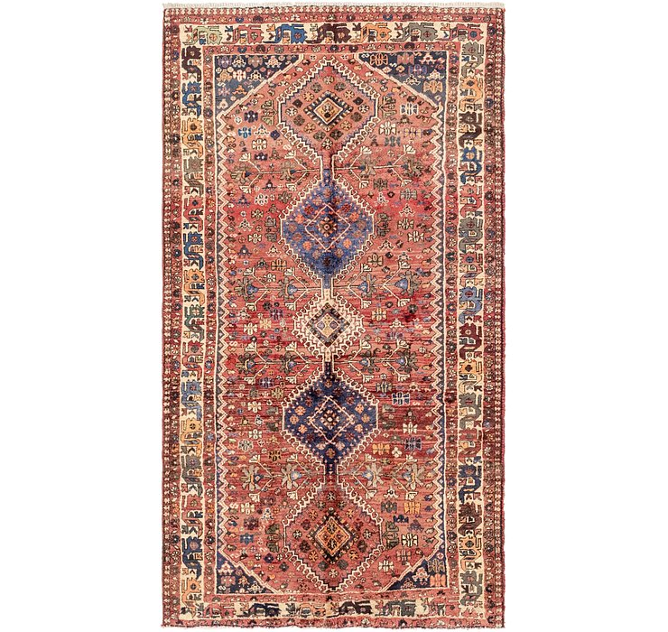 5' 5 x 9' 10 Ghashghaei Persian Rug