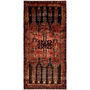 4' 11 x 9' 8 Hamedan Persian Rug