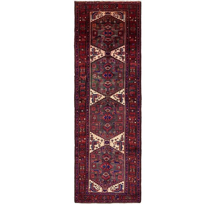 4' 1 x 13' Zanjan Persian Runner Rug