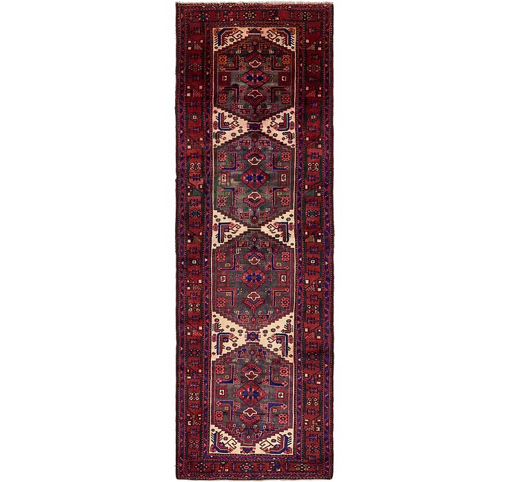 125cm x 395cm Zanjan Persian Runner Rug