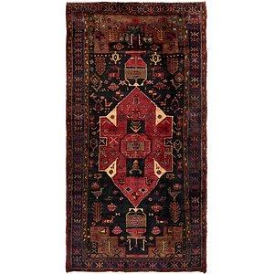 5' x 9' 8 Hamedan Persian Rug