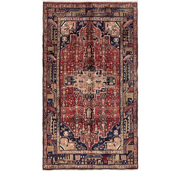 5' 4 x 9' 6 Songhor Persian Rug