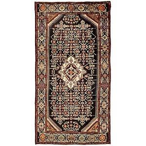 5' x 10' 2 Hossainabad Persian Rug