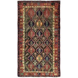 5' x 9' 1 Khamseh Persian Rug