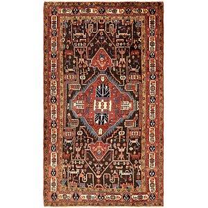 5' 6 x 9' 10 Nahavand Persian Rug