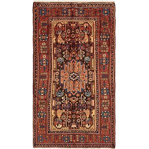 5' x 9' 4 Nahavand Persian Rug