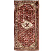 Link to 4' 8 x 9' 10 Hossainabad Persian Runner Rug