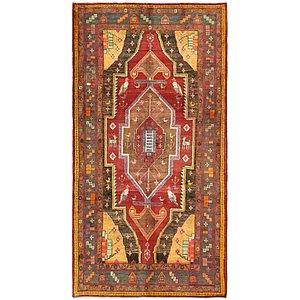 5' 2 x 9' 10 Hamedan Persian Rug