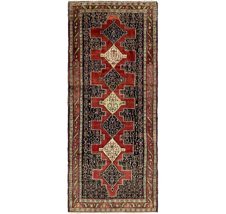 4' 6 x 10' 1 Sanandaj Persian Runner...