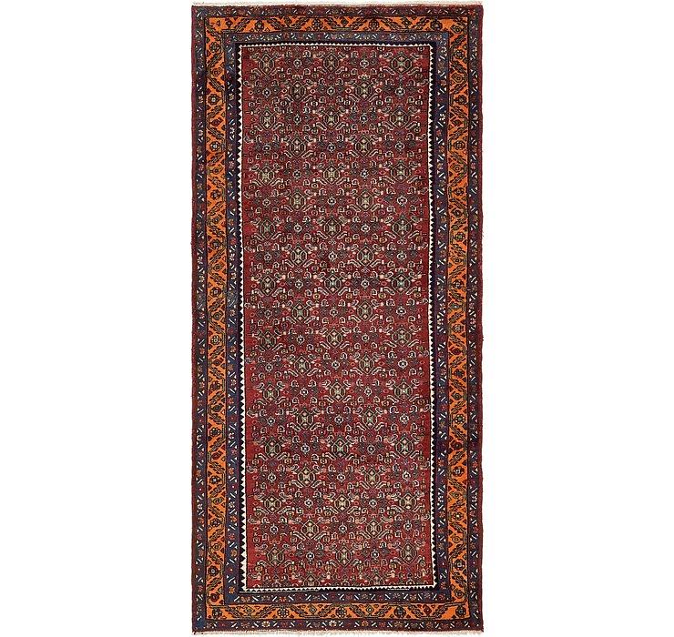 4' 6 x 10' Zanjan Persian Runner Rug