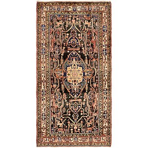 5' 2 x 10' 3 Nahavand Persian Rug