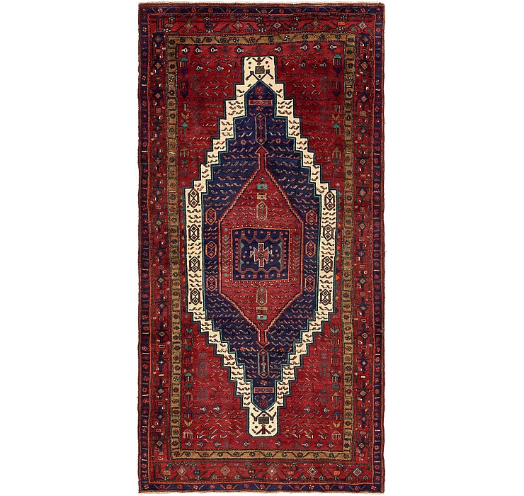 5' x 9' 10 Sanandaj Persian Rug