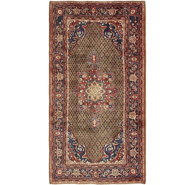 4' 10 x 9' 4 Koliaei Persian Rug