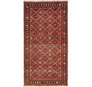 Link to 4' 10 x 9' 8 Shiraz Persian Runner Rug