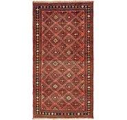 Link to 4' 10 x 9' 8 Shiraz Persian Runner Rug