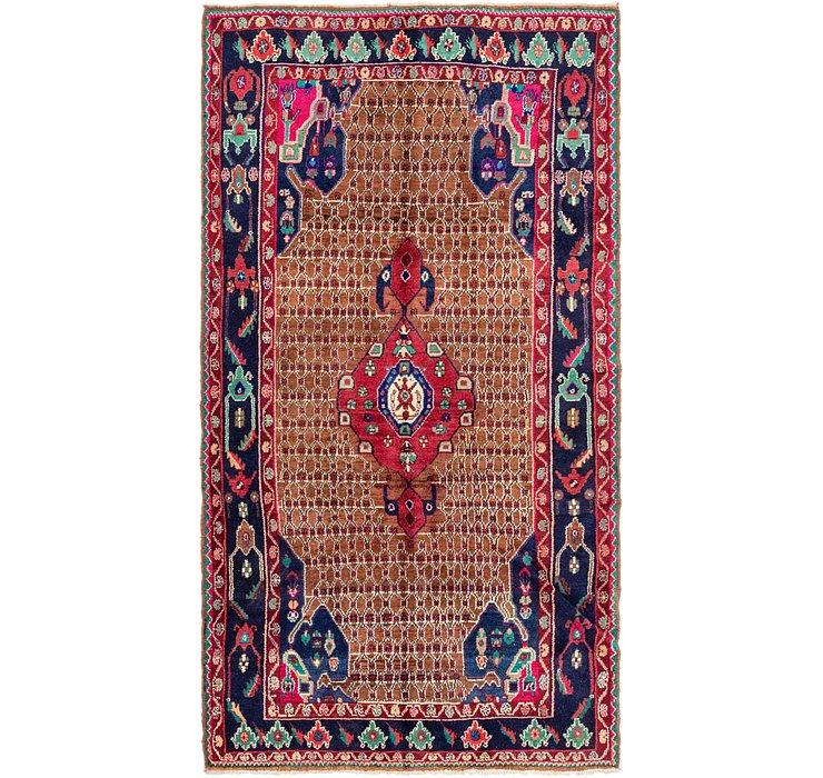5' 2 x 9' 10 Koliaei Persian Rug
